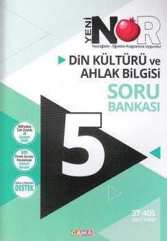 Gama Yayınları 5. Sınıf Nar Din Kültürü ve Ahlak Bilgisi 2 li Set Soru Bankası Tekrar Testleri