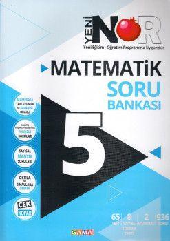 Gama Yayınları 5. Sınıf Nar Matematik 3 lü Set Soru Bankası Ödev Testleri Deneme