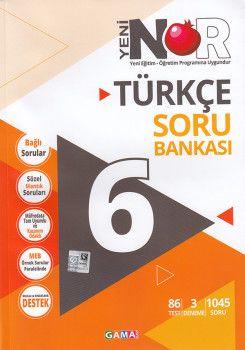 Gama Yayınları 6. Sınıf Türkçe 3 lü Set Soru Bankası Tekrar Testleri Deneme