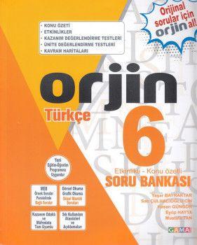 Gama Yayınları 6. Sınıf Orjin Türkçe Soru Bankası