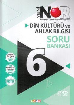 Gama Yayınları 6. Sınıf Nar Din Kültürü ve Ahlak Bilgisi 2 li Set Soru Bankası Tekrar Testleri