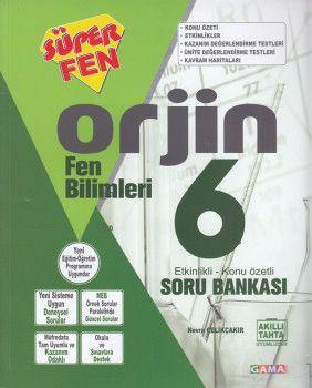 Gama Yayınları 6. Sınıf Orjin Fen Bilimleri Soru Bankası