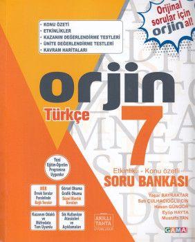 Gama Yayınları 7. Sınıf Orjin Türkçe Soru Bankası