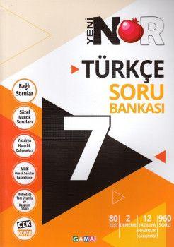 Gama Yayınları 7. Sınıf Nar Türkçe 3 lü Set Soru Bankası Tekrar Testleri Deneme