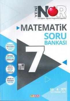 Gama Yayınları 7. Sınıf Nar Matematik 3 lü Set Soru Bankası Tekrar Testleri Deneme