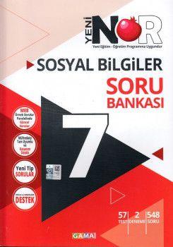 Gama Yayınları 7. Sınıf Nar Sosyal Bilgiler 3 lü Set Soru Bankası Tekrar Testleri Deneme