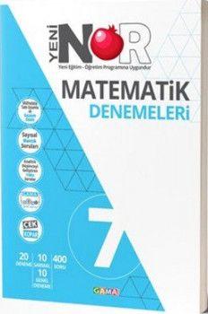 Gama Yayınları 7. Sınıf Matematik Nar Denemeleri
