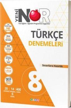 Gama Yayınları 8. Sınıf Türkçe Nar Denemeleri