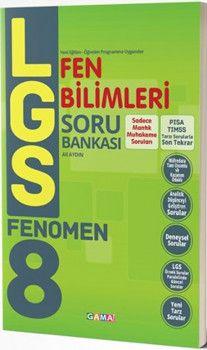 Gama Yayınları 8. Sınıf LGS Fen Bilimleri Fenomen Soru Bankası