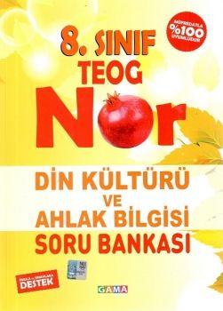 Gama Yayınları 8. Sınıf TEOG Nar Din Kültürü ve Ahlak Bilgisi Soru Bankası