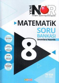 Gama Yayınları 8. Sınıf Nar Matematik 3 lü Set Soru Bankası Tekrar Testleri Deneme