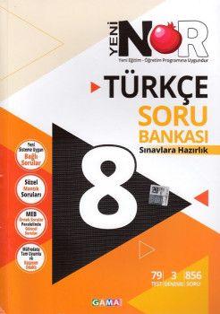 Gama Yayınları 8. Sınıf Nar Türkçe 3 lü Set Soru Bankası Tekrar Testleri Deneme