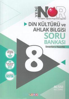 Gama Yayınları 8. Sınıf Nar Din Kültürü ve Ahlak Bilgisi 2 li Set Soru Bankası Tekrar Testleri
