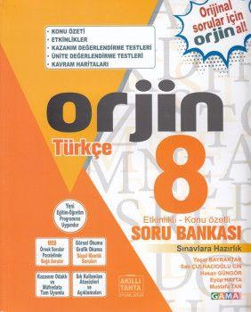 Gama Yayınları 8. Sınıf Orjin Türkçe Soru Bankası