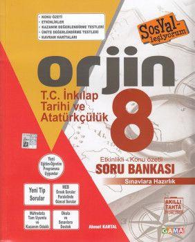 Gama Yayınları 8. Sınıf T.C. İnkılap Tarihi ve Atatürkçülük Soru Bankası