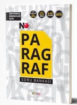 Gama Yayınları Nar Ortaokul Öğrencileri için Paragraf Soru Bankası