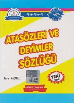 Gönül Yayınları Atasözleri ve Deyimler Sözlüğü
