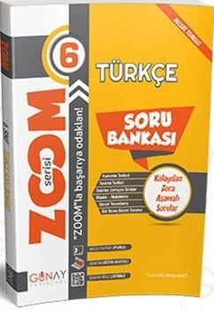 Günay Yayınları 6. Sınıf Türkçe Zoom Soru Bankası