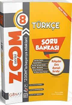 Günay Yayınları 8. Sınıf Türkçe Zoom Soru Bankası