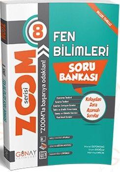 Günay Yayınları 8. Sınıf Fen Bilimleri Zoom Soru Bankası