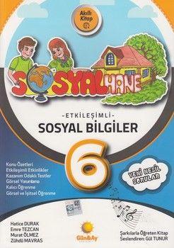 Günay Yayınları 6. Sınıf Sosyal Bilgiler Etkileşimli Sosyalhane