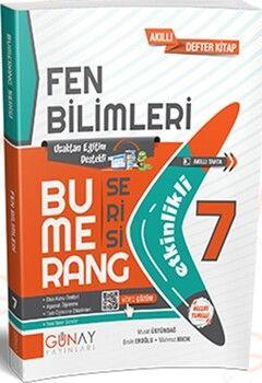 Günay Yayınları 7. Sınıf Fen Bilimleri Etkinlikli Bumerang Serisi