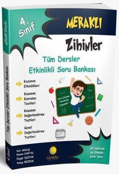 Günay Yayınları 4. Sınıf Tüm Dersler Meraklı Zihinler Etkinlikli Soru Bankası