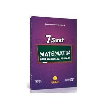 Günay Yayınları 7. Sınıf Matematik Konu Özetli Soru Bankası