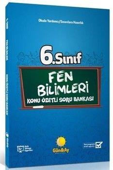 Günay Yayınları 6. Sınıf Fen Bilimleri Konu Özetli Soru Bankası