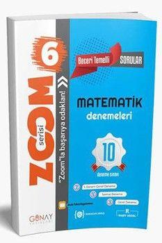 Günay Yayınları 6. Sınıf Matematik 10 Deneme Zoom Serisi