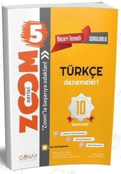 Günay Yayınları 5. Sınıf Türkçe 10 Deneme Zoom Serisi