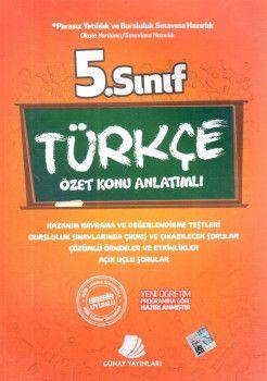 Günay Yayınları 5. Sınıf Türkçe Özet Konu Anlatımlı