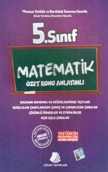 Günay Yayınları 5. Sınıf Matematik Özet Konu Anlatımlı