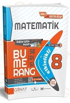 Günay Yayınları 8. Sınıf LGS Etkinlikli Matematik Bumerang Serisi