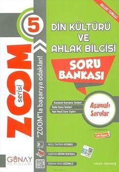 Günay Yayınları5. Sınıf Din Kültürü ve Ahlak Bilgisi Zoom Soru Bankası