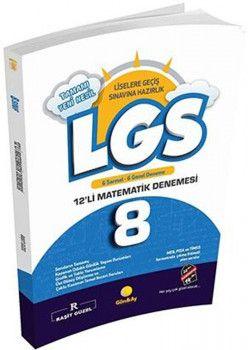 Günay Yayınları 8. Sınıf LGS Matematik 12 li Deneme
