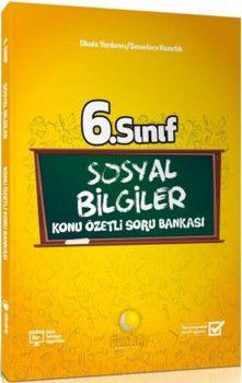 Günay Yayınları 6. Sınıf Sosyal Bilgiler Konu Özetli Soru Bankası