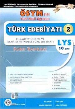 Gür Yayınları 10. Sınıf Türk Edebiyatı 2 Soru Bankası