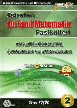Gür Yayınları 10. Sınıf Matematik Analitik Geometri Konu Anlatımlı 2