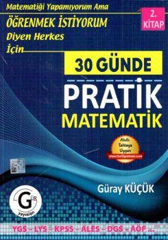 Gür Yayınları 30 Günde Pratik Matematik 2. Kitap