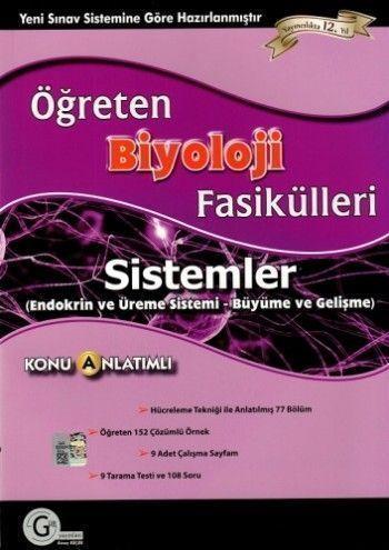 Gür Yayınları Biyoloji Fasikülleri Sistemler (Endokrin ve Üreme Sistemi - Büyüme ve Gelişme)