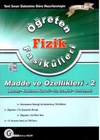 Gür Yayınları Fizik Fasikülleri ( Madde ve Özellikleri 2)
