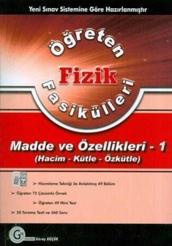 Gür Yayınları Fizik Fasikülleri ( Madde ve Özellikleri 1)