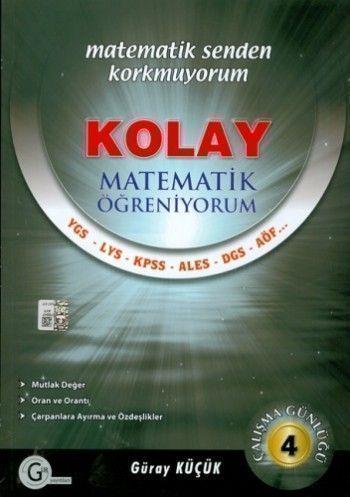Gür Yayınları Kolay Matematik Öğreniyorum 4