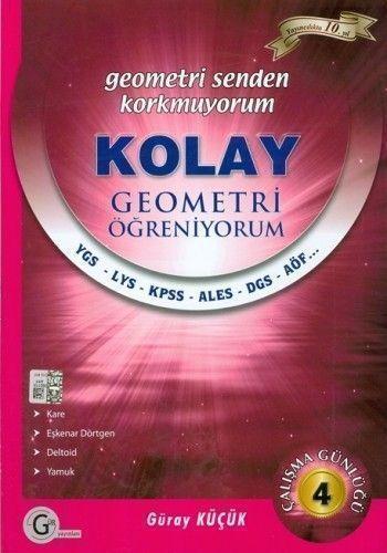 Gür Yayınları Kolay Geometri Öğreniyorum 4
