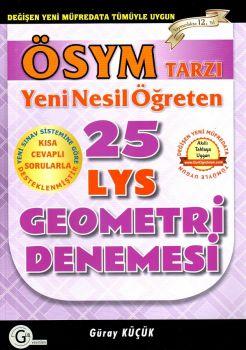 Gür Yayınları LYS Geometri 25 Denemesi