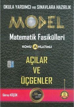 Gür Yayınları Model Matematik Fasikülleri Açılar ve Üçgenler Konu Anlatımlı