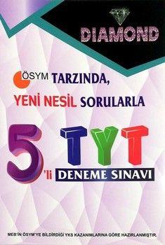 Gür Yayınları TYT DIAMOND 5 li Deneme Sınavı