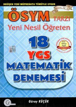 Gür Yayınları YGS 18 Matematik Denemesi