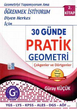 Gür Yayınları YGS LYS KPSS ALES DGS AÖF 30 Günde Pratik Geometri 2